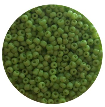 Бисер мелкий зеленый 242.