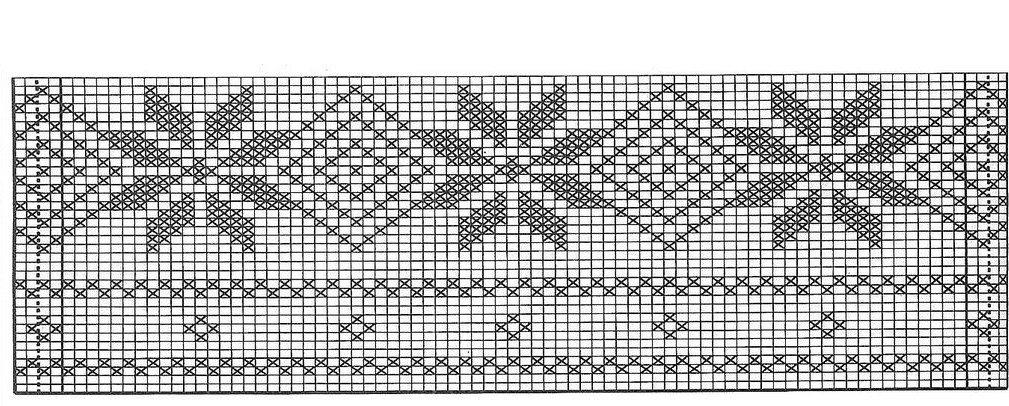 Жаккардовый узор орнамент