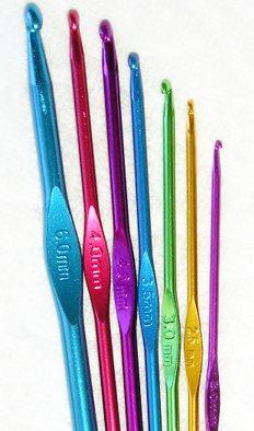 крючок для вязания цветной 10 мм маковка хобби и рукоделие