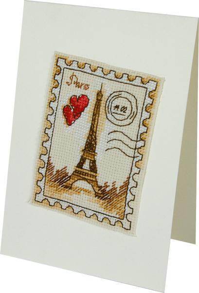 Набор для вышивания 1298 Париж