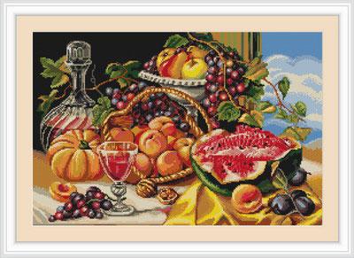 Набор для вышивания золотая осень
