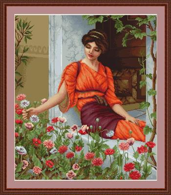 B474 летние цветы набор для
