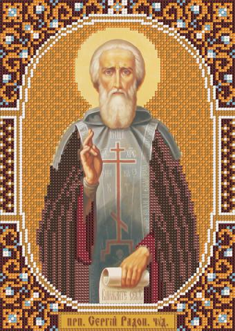 именная икона Св. Сергий