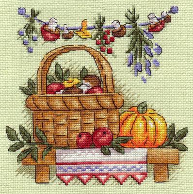 Вышивка клубничное варенье панна