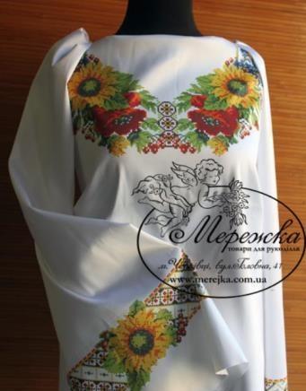 Заготовка для вышивки сорочки